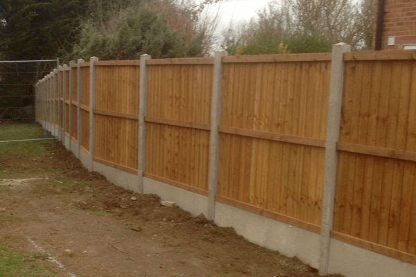 CLOSEBOARD PANEL FENCE FRONT