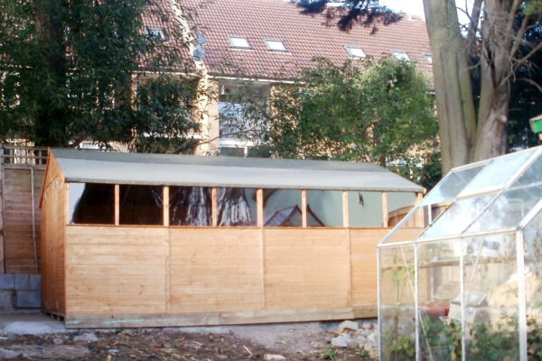 GARDEN SHED FRONT 2