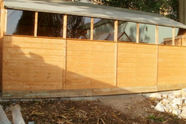 GARDEN SHED FRONT