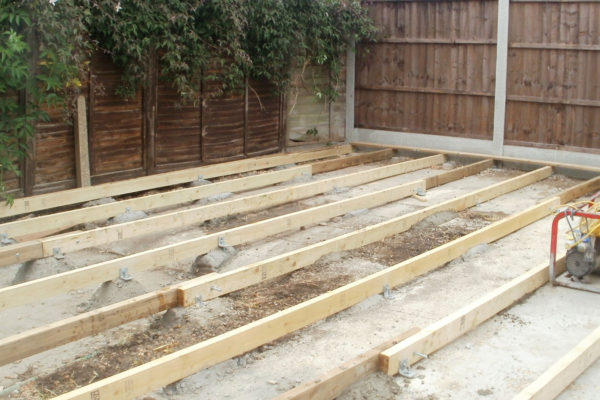 GARDEN DECKING BASE FRAME