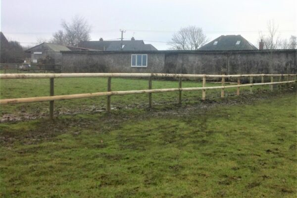 POST AND RAIL FENCING (2)
