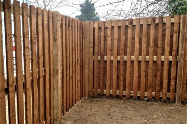 TIMBER BIN STORE FENCING