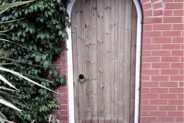 SINGLE ARCHED TOP T&G GATE